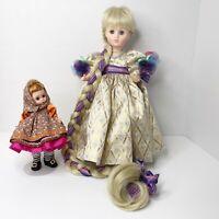 Madame Alexander Rapunzel Mother Gothel Dolls Limited Edition 1539 RARE!!!
