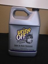 URINE OFF CAT KITTEN ODOR STAIN REMOVER ONE GALLON Deodorizer  ANIMAL