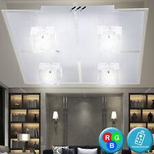 LED Design Deckenleuchte Deckenlampe mit Fernbedienung Farbwechsel leuchte Lampe