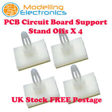 PCB Circuit Board Support Stand Off Pillar 5.5mm Mini Locking Self Adhesive Base