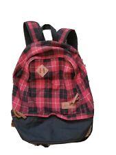 Ll bean Teardrop Sebec Backpack Plaid, Hunter Red.