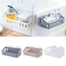 Self Adhesive Bathroom Shelf Storage Organizer - Wall Monuted Floating Shelves