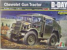 Britannique tracteur CHEVROLET-ITALERI KIT 1:35 - 240 # E