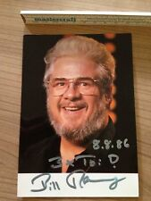Bill Ramsey Autogramme Autograph Original Sammlung Rarität TV Kino