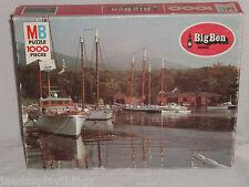 MB Milton Bradley Puzzle Big Ben Schooners Camden Maine 1978 SEALED