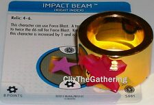 IMPACT BEAM S001  The Invincible Iron Man Marvel Heroclix special object/relic