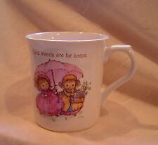 Mary's Bears Vintage Hallmark Friendship Mug Pink