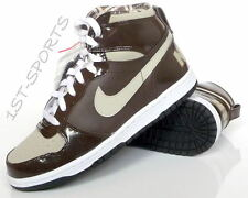 NIKE TRAINERS, BOYS, JUNIORS BIG NIKE HIGH LE BROWN, TRAINERS, SHOES, UK 5.5