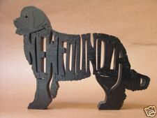Newfoundland Black Dog Wooden Amish made Toy Puzzle
