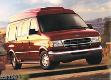1999 Ford ECONOLINE VAN Brochure / Catalog with Color Chart:CONVERSION,E-150,350