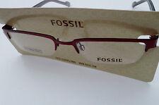FOSSIL GLASSES FRAME Delano Red of1216600