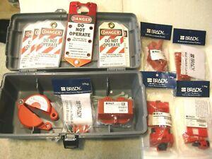 Brady operator electrical lockout toolbox kit