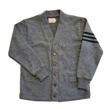 Dehen Knitting Co. 1920 Wool Cardigan Sportswear Sweater Varsity Outdoorsman USA