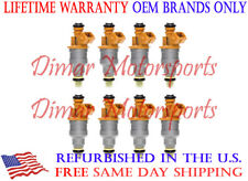 1997-2002 EXPEDITION 4.6L 5.4L Set of 8 OEM Fuel Injectors