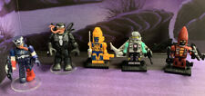 Kre-o Lego figures Transformers Venom Captain America lot of 5
