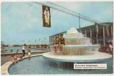 Butlins Minehead, Outdoor Heated Pool The Fountains 1966 Postcard B855