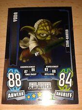 Force Attax Star Wars Serie 4 Star Karte 196 Yoda Sammelkarte Trading Card