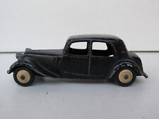 DINKY TOYS FRANCE  CITROEN  TRACTION  11 BL   REF 24 N    1957  BON ÉTAT