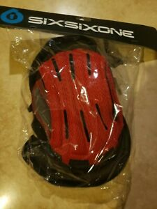 MX Youth Liner Black/Red Replacement 661 SIXSIXONE.  (S)