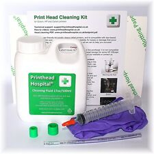 Print Head Cleaning Kit for Epson Canon Brother HP Printers - 17oz 500ml, New