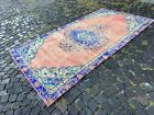 Handmade rug, Wool rug, Vintage rug, Turkish large rug   4,8 x 8,9 ft
