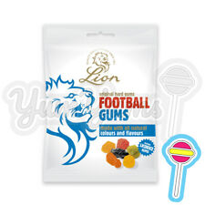 3 x 190g Lion Football Gums Bag Original Hard Gums | Lions Lyons | OUT OF DATE
