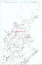 Bizarre Adventures 1 cover ORIGINAL COVER by MARVEL Comics CARLOS PACHECO
