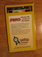 SEALED Pokemon ENTEI Card BLACK STAR PROMO Set #34 REVERSE Holo/Foil WOTC TCG