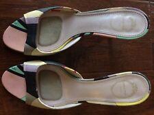 Emilio Pucci leather shoes @@ super cute kitten heels