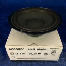 ►ACCORD LS 616◄ALTOPARLANTE WOOFER SPEAKER SYSTEM NUOVO 30-50W 8ohm 16cm