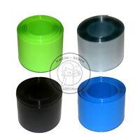 Flat Width 115MM, Round diameter 73MM PVC Heat Shrink Tubing Wrap (4 Color)