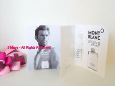 NEW 5 X Mont Blanc LEGEND SPIRIT Eau de Toilette Men Perfume Spray Sample 1.2 ml