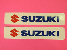 Two Suzuki Universal Tank Swingarm Fork Stickers Decals RMX LTZ LTR Quad Runner