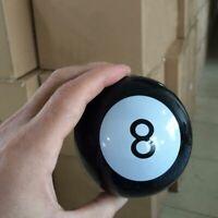 MAGIC DECISION BALL EIGHT PREDICTION GAME TOY MYSTIC BIN C0Y8