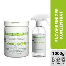 Happyzym Enzymreiniger 1kg Geruchsentferner gegen Flecken, Katzenurin und mehr!