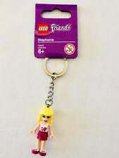 LEGOLAND Lego Friends STEPHANIE Minifigure Keychain Key Ring LEGO GIRLS