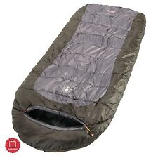 Cold Weather Sleeping Bag Zero 0 Degree Coleman Extreme Weather Backpacking Down