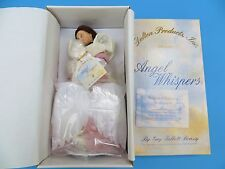 "Delton Products Angel Whisper Resin Angel Doll ""Love"" by Gay Talbott Boassy NRB"