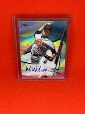 2020 Topps Finest Mike Mussina Auto #FA-MM