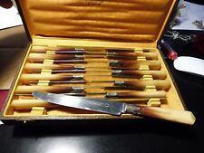 lot de 12 couteaux inox , vintage - ELY Laumonier
