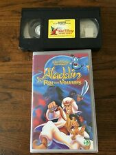 VHS  WALT DISNEY  VIDEOS PREMIERES   «Aladdin et le Roi des Voleurs»   HOLOGRA