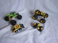 4 Lego Vehicles / Cars - Glued