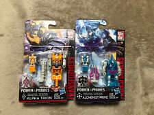 Transformers: Power of the Primes Alchemist Prime Alpha Trion  2 Lot