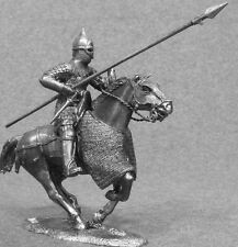 Russian Knight Military Horseman with Spear Tin Soldier Toy Cavalryman 54mm