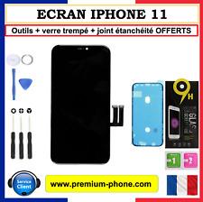 ECRAN LCD COMPLET VITRE TACTILE IPHONE 11 SUR CHASSIS OUTILS + VERRE OFFERTS