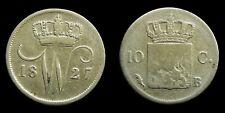 Netherlands - 10 Cent 1827 Brussel