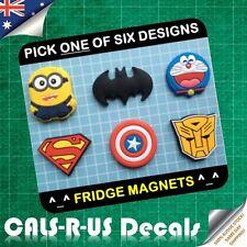 Key Holder Fridge Magnet Minion Batman Doraemon Superman Autobot. MADE IN KOREA