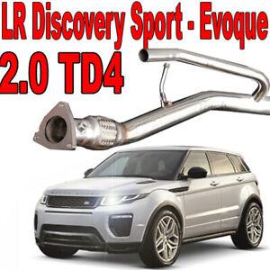 Tubo Rimozione FAP DPF Downpipe Range Rover Evoque 2.0 D 150 180 CV LR2