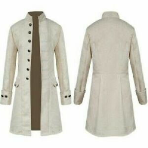 White Color Costumes dress Gambeson sca larp