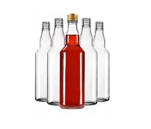 GLASS bottles 200ml 20cl / 500ml - 50cl / 700ml - 70cl home brewing + screw caps